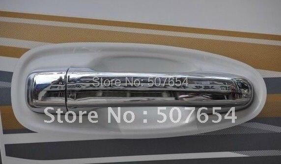 Livraison gratuite! Étoile supérieure 8 pièces couvercle de poignée de porte (Chrome ABS) pour TOYOTA PRADO (Land Cruiser) FJ150
