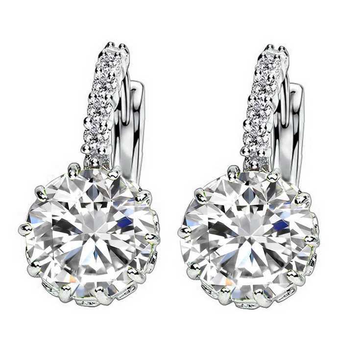 10//20 Paire Femmes Elegant Pearl 925 Argent D/'Oreille Clous D/'Oreilles Costume Jewelry Gift