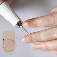 카바이드 큐티클 클린 노즐 비트 네일 드릴 비트 네일 아트 용 밀링 커터 전기 매니큐어 머신 버 페디큐어 도구
