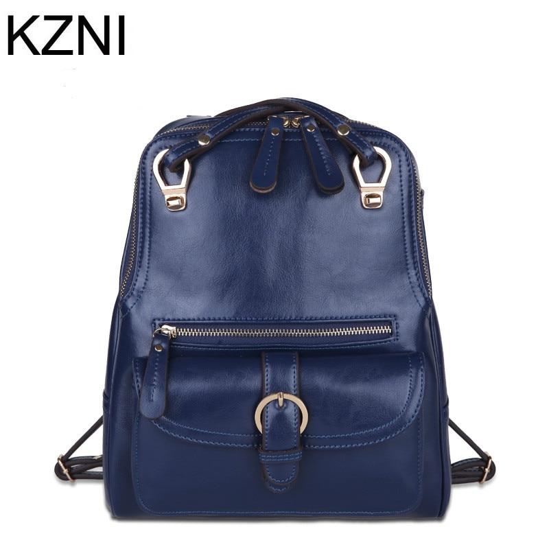 ФОТО KZNI top sale brand female genuine leather bags new arrival fashion good quality shoulder bag women bag bolsas femininas L112030