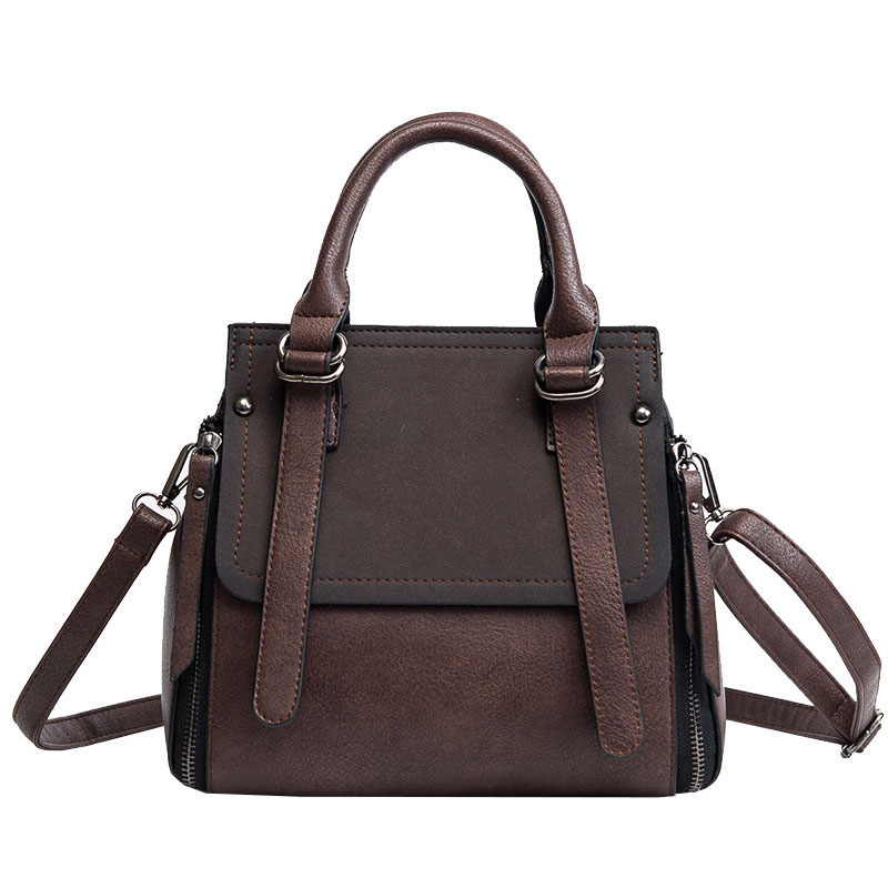 Vintage New Handbags For Women 2018 Female Brand Leather Handbag High Quality Small Bags Lady Shoulder Bags Casual Tote