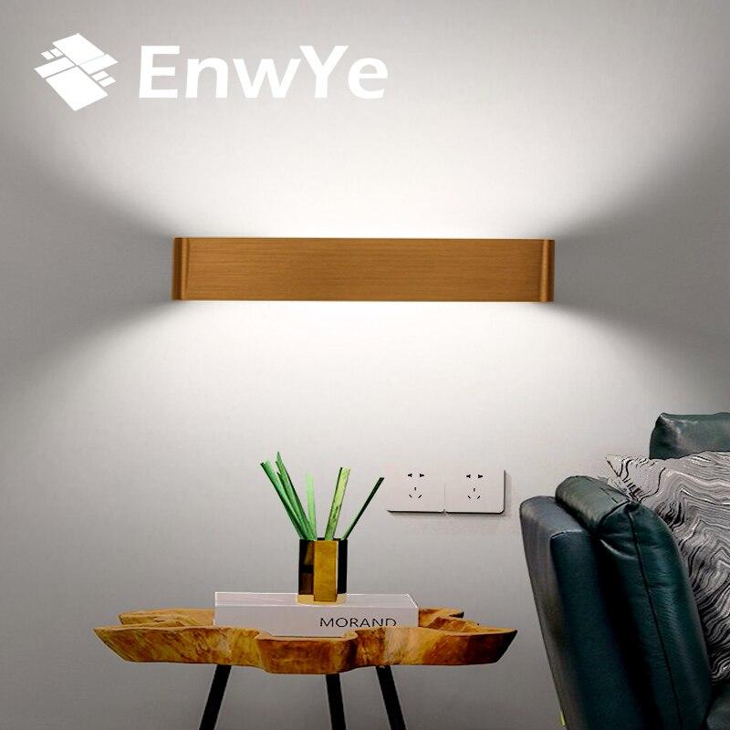 EnwYe FÜHRTE Moderne Wandleuchten Spiegel Licht Aluminium Lampe AC85-265V Wohnzimmer Bad Flur Treppe nachttischlampe Wandleuchte Licht BD72