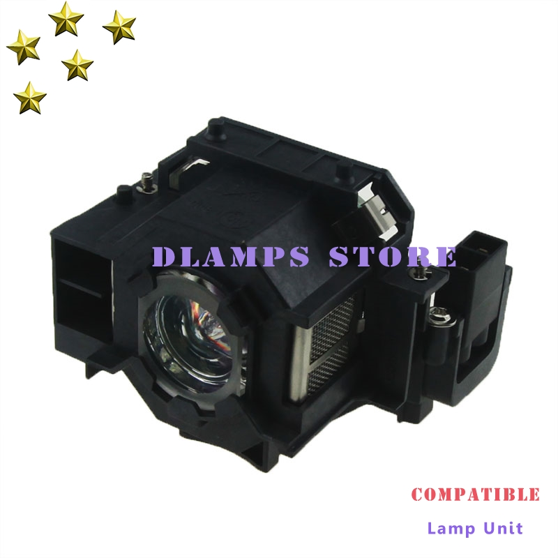 High Quality ELPLP41 V13H010L41 Projector Lamp with Housing For EPSON EMP-S5 EMP-S52 EMP-T5 EMP-X5 EMP-X52 EMP-S6 EMP-X6 awo quality projector bulb replacement emp 77 emp s5 emp s52 emp s6 emp x5 emp x52 emp x6 emp ex21h283a h284a for epson elplp41