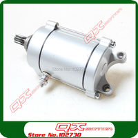 Zongshen loncin Shineray lifan CG250 Air Cooled Cooling Engine 11T Electric Starter Motor for ATV Quad motorcycle