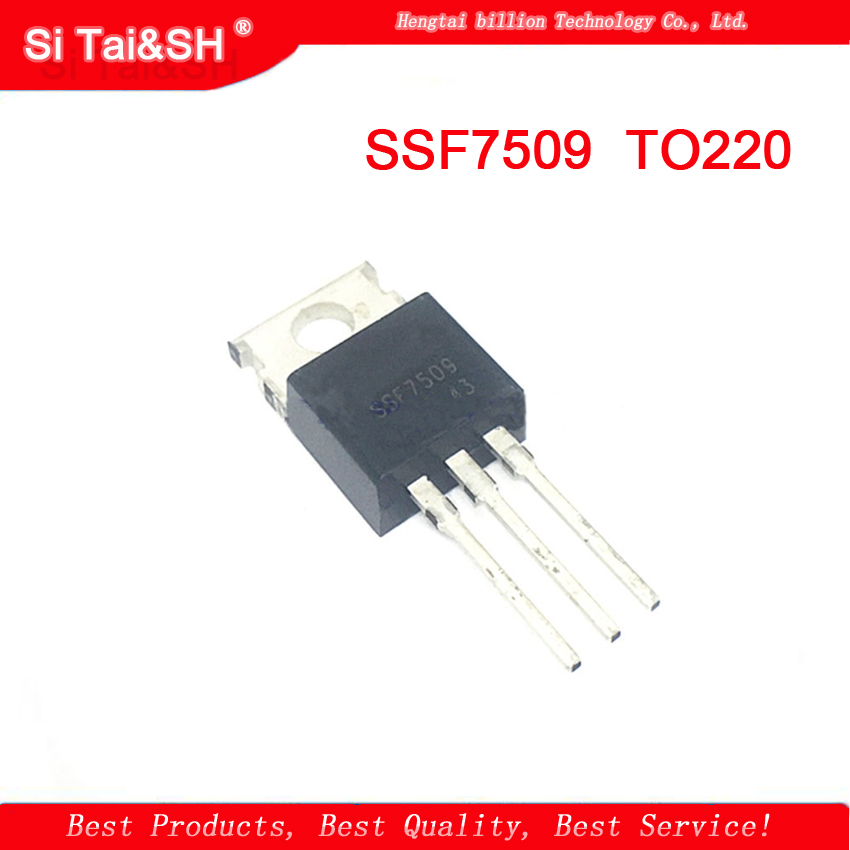 10PCS MOS  SSF7509 7509 80V 80A TO-220  Integrated Circuit