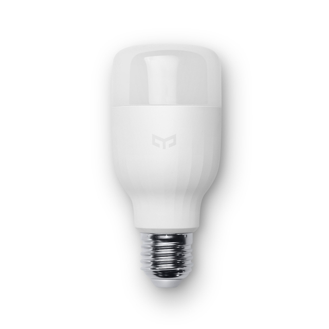 100% original xiaomi yeelight lâmpada led inteligente smartphone app wifi controle remoto mi luz 8 w cor branca luz branca luz