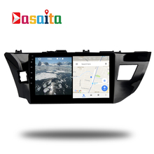 Car 2 din Radio android 7.1 GPS Navi for Toyota Corolla 2014+ auto-radio navigation head unit multimedia video broswer 2Gb ram