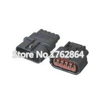 5 Sets 5 Pin 6189-1081 6189-6909 Female Male 1.2mm Auto Waterproof Connector Plug DJ70510-1-11/21 Auto Oxygen Sensor Plug