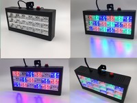 4pcs/lot Mini Sound Control 18 RGB LED room strobe Disco Party DJ Light Show LED Strobe Grille Lamp Home Entertainment 110v 220v