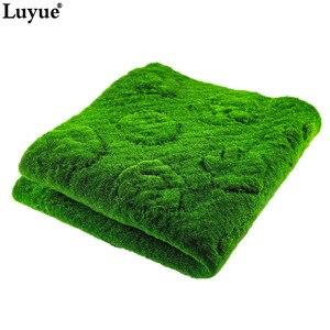 Image 5 - Luyue 1M * 1M Platz Künstliche Anlage Rasen Home Simulation Anlage Hintergrund Wand Moos Rasen Grün Sod Innen fenster Dekoration