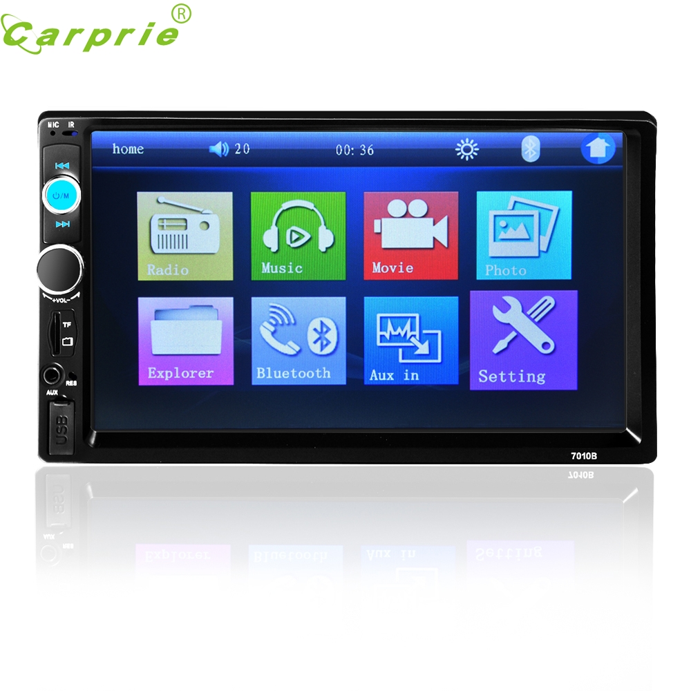 ФОТО Tiptop New Arrival Hot Sale 7'' HD Bluetooth Touch Screen Car Stereo Radio 2 DIN FM/MP5/MP3/USB/AUX SEP 8
