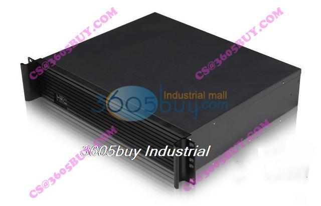 Aluminum panel short 2u computer case firewall computer case ros computer case server computer case atx power supply
