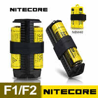 1 PC NITECORE F2 Flexible Bank 2A smart Li-Ion IMR 18650 Batterie 2 slots USB tragbare licht ladegerät netzteil adapter