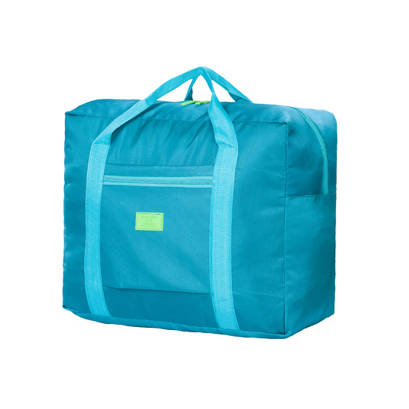 2019 Fashion Men Folding Travel Bag Nylon High Quality Storage Bag Ladies Hand Luggage New Large Capacity Duffel Bag