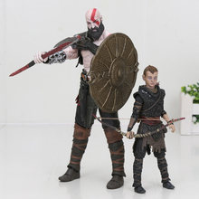 NECA God of War Kratos & Atreu Final PVC Action Figure Collectible Modelo Toy(China)
