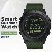 Outdoor Bluetooth IP67 Waterproof Smart watch Long Standby Time 24h All-Weather Monitoring Smart Watch For Android/IOS zeblaze vibe 4 smart watch hybrid flagship rugged smartwatch 50m waterproof 33 month standby time 24h all weather monitoring