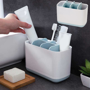 Toothbrush Shelf ABS Suction Household Doughnut Shape Makeup Brush Holder Storage Rack Stand Rack Toothpaste Container old school motorcycle gauges