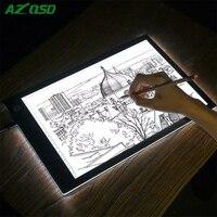 Dimmable A4 LED Light Tablet Pad Ultra Thin Apply To EU UK AU US USB Plug