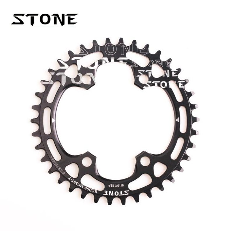 Stone MTB Bike Single Chainring BCD 96mm Chain Ring For M6000 M7000 M800 M9000 M9020 96 PCD Chainwheel 7075t6 cnc mtb chain ring 110pcd 40 42 44 46 48t mtb bike bicycle crank chainring tooth disc chain ring cr e1 dx5800 110