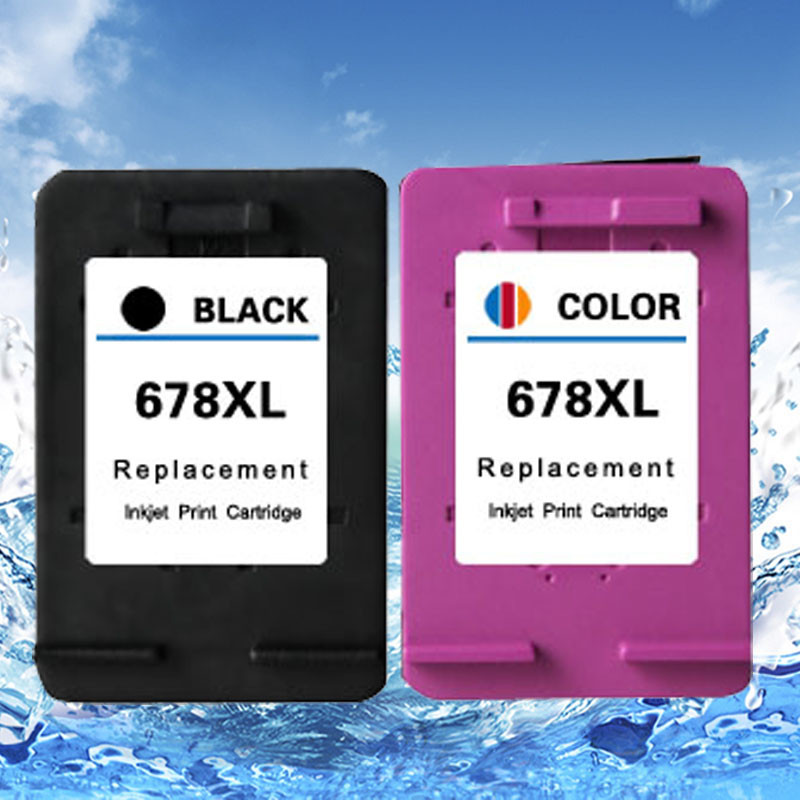 hisaint Compatible ink cartridge for HP 678XL 678 for HP 2515 3515 1018 1518 ink jet printer hot sale