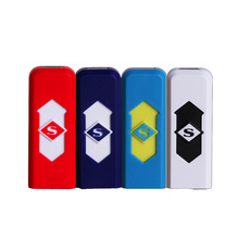 USB charging lighter Advertising gifts Custom Creative windproof Electronic cigarette Factory Direct Marketing