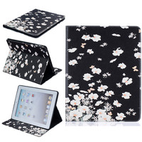 For Cover Apple IPad 2 IPad 3 IPad 4 Smart PU Leather Tablet Case Stand Flip