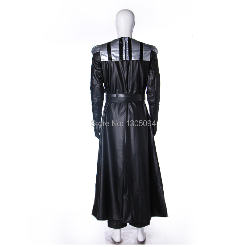 Star Wars Darth Vader Black Robe Hoodie Cloak Full Set Cosplay Costume Halloween Outfit For Men Custom Made