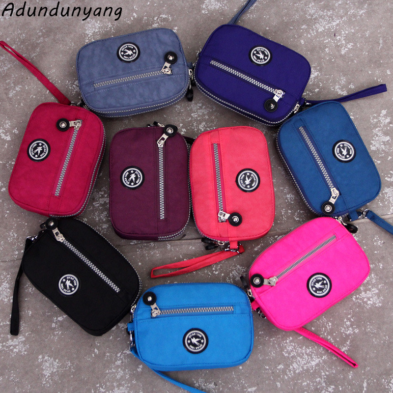 Fashion Original Women Nylon Wallet Card Holder High Quality Waterproof Women Small Bags Purse Clutch