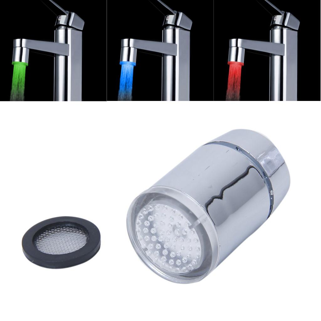 Imc Горячая glow Термометры светодиодные поток воды кран 3 цвета
