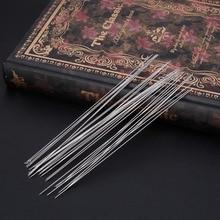 0.6 x 120mm 30 PCS Beading Needles Threading String Cord Jewelry Craft Making Tool Handmade Art Tool Kit Needle
