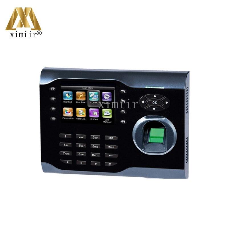Good Quality Iclock360 Fingerprint Time Attendance Machine Linux Operating System TCP/IP Biometric Time Attendance