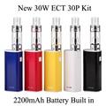Vape Kit Electronic Cigarette E Cigarette New eT 30P Vaporizer Electronic Hookah ECT 30P Kit 30W Box evaporator Shisha Pen X1048