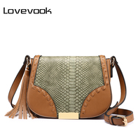 REALER Brand Fashion Women Shoulder Bag Female Tassel Design Messenger Bag Zipper High Quality Crossbody Bag