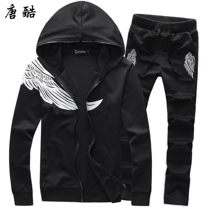 2018 Autumn Winter sporting set men pant suits Fitness baseball track suit male big size 5XXXXXL ...