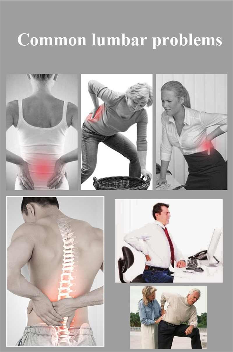 KSY ortopedik turmalin kendinden ısıtma manyetik çelik levhalar bel destek kemeri erkekler kadınlar bel desteği geri sarıcı kemer
