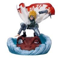 Naruto Namikaze Minato PVC Action Figures Model Toy Uzumaki Naruto Sasuke Anime Figurine Collection Doll Gift