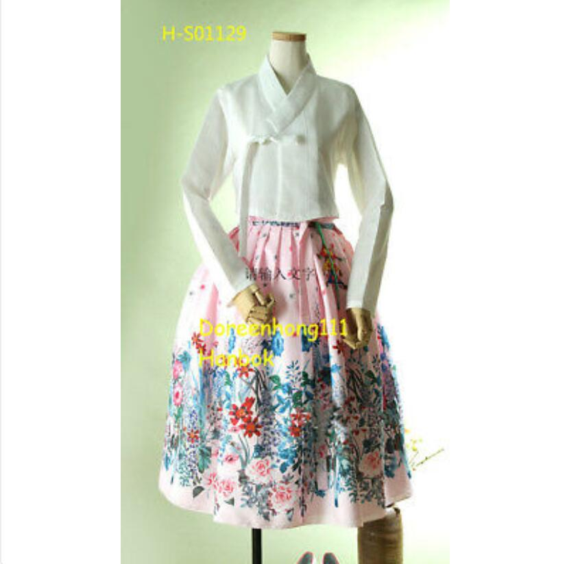 2019 New Fashion Modern Hanbok Fushion Hanbok Korean Traditional Hanbok Dress Modernized Hanbok Popular Set Gift