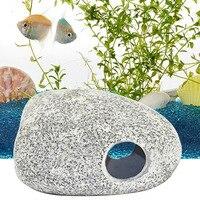 Behokic גדול אקווריום דגי טנק קישוט מסתור ציקלידים אבן סלעים aquario מערה Fish Tank נוף קישוט אקווריום