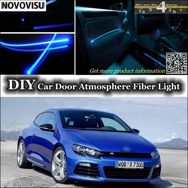NOVOVISU Für Volkswagen VW Scirocco Innen Umgebungslicht Atmosphäre Fiber  Optic Band Licht Im Inneren Tür Panel