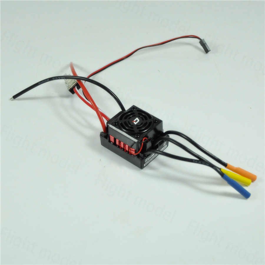 Hobbywing Sensored 10BL60 Brushless Motor Speed Controller 60A ESC 1/10 RC Car Truck 3650 3900kv 4p sensorless brushless motor 60a brushless elec speed controller esc w 5 8v 3a switch mode bec for 1 10 rc car