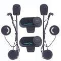 2xBT freedconn t-comvb Intercomunicador do Capacete Da Motocicleta Do Bluetooth Interfone Headset 800 m FM comunicação capacete da motocicleta do bluetooth