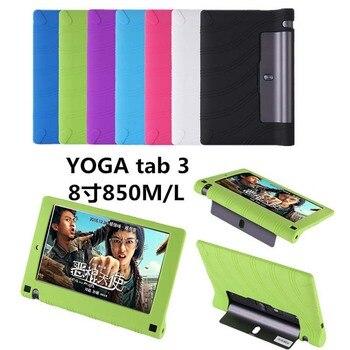 """Funda de silicona blanda para tableta Lenovo, Funda fina para Tablet Lenovo Yoga Tab 3 Tab3 850F YT3-850M 850L 8"""""""