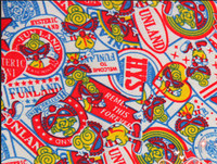 50 170cm Japan Cartoon Lovely Hysteric Mini Flannel Knitting Cotton Fabric For Sewing Diy Boy Patchwork