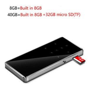 Image 5 - Metal mp3 player 2.4 inch screen fm radio e book video lossless HIFI music mini portable sport audio player