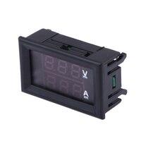 Mini LED Digital Voltmeter Ammeter Detector Table DC 0-100V 0-10A Current Voltage Panel Meter Gauge Tester Monitor