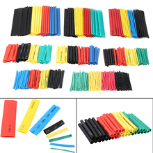 400pcs Polyolefin Heat Shrink Tube Mixed Color 8 sizes 1-14mm 2:1 Tubing Cable Sleeves Wrap Wire Assortment Set