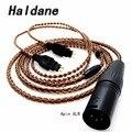 Бесплатная доставка Холдейн 8 ядер чистый Медь наушников сменный аудио кабель для HD600 HD650 HD525 HD545 HD565 HD580