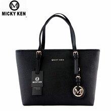 MICKY KEN Brand new 2019 women handbags big pu leather high quality letter female bag