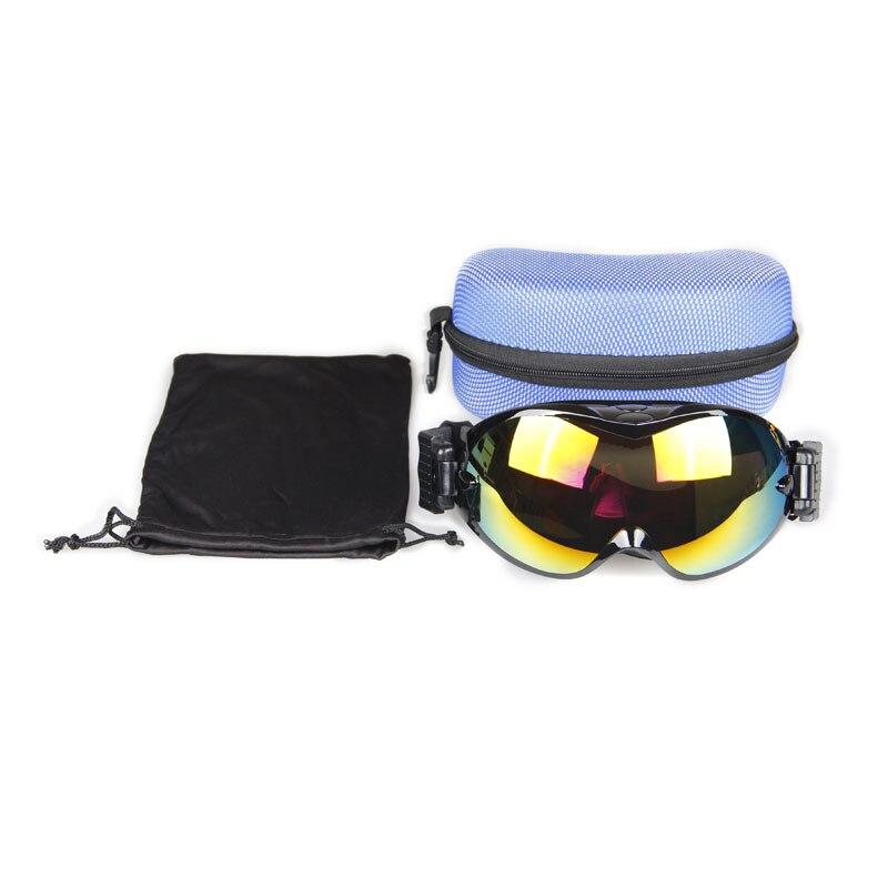 Okulary snowboardowe Mężczyźni i kobiety, Gogle narciarskie UV400, - Narciarstwo i deska snowboardowa - Zdjęcie 4