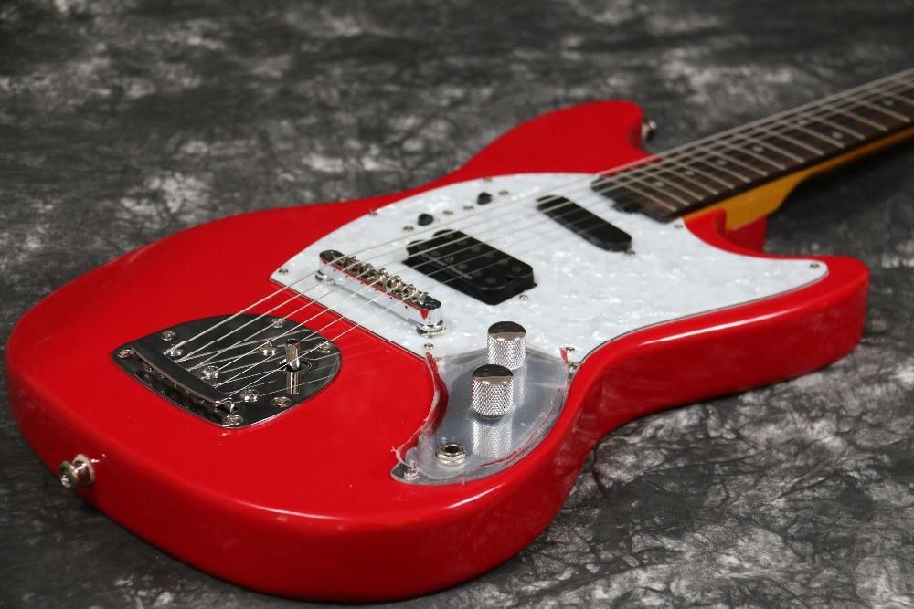 Instock Starshine Mustang E-Gitarre SR-LST-026 Vintage-Tuner mit rosa - Musikinstrumente - Foto 4